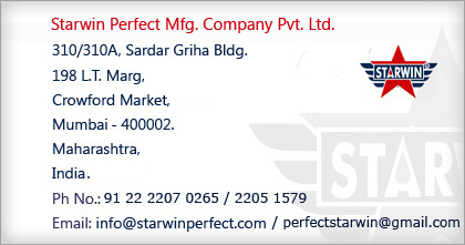Contact Starwin Perfect Mfg. Pvt. Ltd.